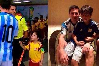 球童父亲怒斥梅西说谎:拿球衣的孩子不是我儿子