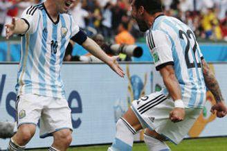 世界杯-梅西2球阿根廷3-2尼日利亚 两队携手晋级