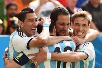 世界杯-伊瓜因闪击天使伤退 阿根廷1-0淘汰比利时