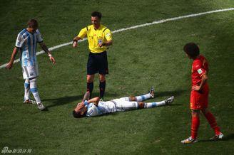 阿根廷遭重创!迪马利亚右腿肌肉撕裂告别世界杯