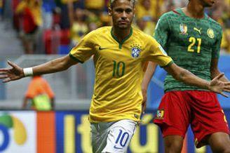 内马尔攻入世界杯第100球 巴西100场秀仅次一豪门