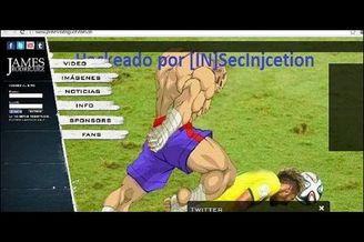 J罗躺枪!巴西黑客入侵其主页 内马尔遭恶魔攻击(图)