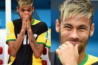 内马尔快急哭了!痛苦掩面 这巴西他已不忍再看(图)