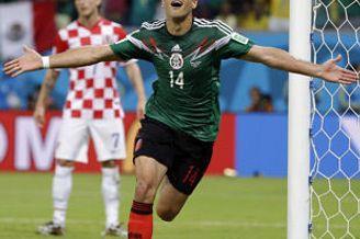 世界杯-墨西哥3-1克罗地亚 小组第二出线将战荷兰