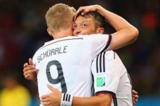 世界杯-厄齐尔加时赛进球 德国2-1险胜将战法国