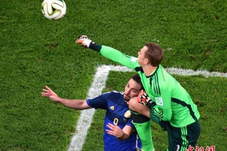 德国门神荣膺金手套奖 诺伊尔七场比赛仅丢四球