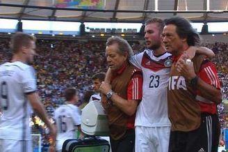 德国奇兵曝世界杯决赛被撞失忆:记不清上半场发生了啥