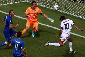 世界杯-巴神失单刀 意大利0-1负送哥斯达黎加出线