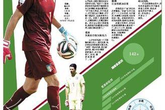 世界杯上的70后:布冯8带次扑救憾别 仍想为国效力