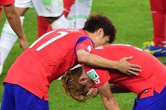 韩国重演20年耻辱一幕 这次更惨 进球功臣哭了(图)