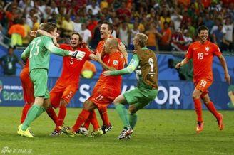 荷兰命真硬啊!世界杯48年最衰霉运也挡不住晋级