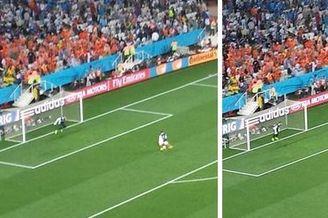 逆天门将这次没给机会救荷兰 中场点球白练了(图)