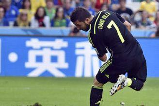 世界杯-比利亚托雷斯进球 西班牙3-0澳洲双双出局
