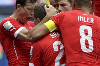 世界杯-拜仁边锋帽子戏法 瑞士3-0晋级将战阿根廷