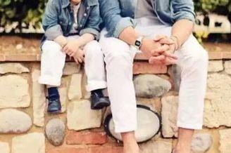 有一种帅气叫男人带孩子