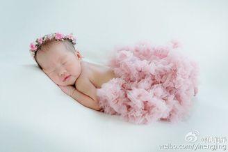 伊能静女儿将迎出生百日