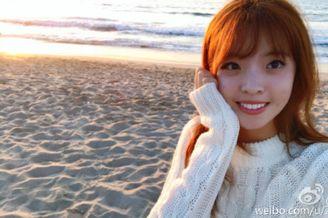 王中磊女儿晒照笑容甜美