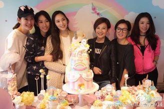 吴佩慈女儿3岁庆生