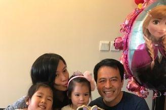 林熙蕾小女儿过生日