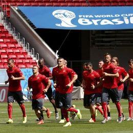 瑞士队训练备战