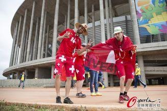 高清图-瑞士厄瓜多尔激情球迷