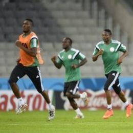 尼日利亚训练备战世界杯