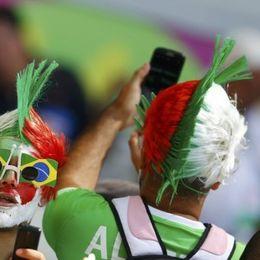 比利时阿尔及利亚球迷