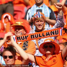 澳大利亚荷兰球迷集锦