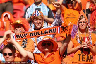 高清图-澳大利亚荷兰球迷集锦