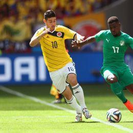 [C组次轮]哥伦比亚2-1科特迪瓦