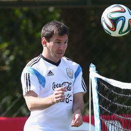 阿根廷备战梅西心情放松