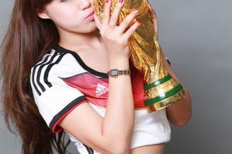 高清图-甜美足球宝贝写真挺德国