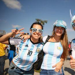 阿根廷伊朗球迷风采