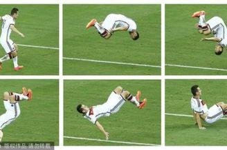 高清图-世界杯上的经典庆祝动作