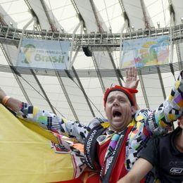 新浪直击比利时俄罗斯个性球迷
