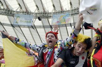 高清图-新浪直击比利时俄罗斯个性球迷