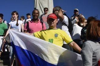 高清图-世界杯基督山前人山人海