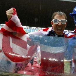 美国德国球迷集锦