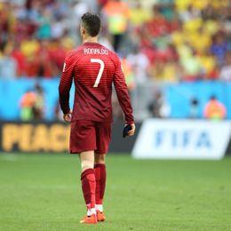 C罗告别巴西世界杯
