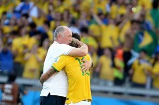 高清图-新浪直击巴西智利点球大战