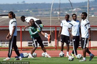 高清图-尼日利亚备战淘汰赛