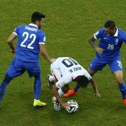 [1/8决赛]哥斯达黎加6-4希腊(点球5-3)
