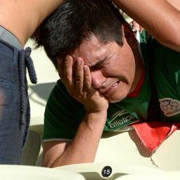 新浪直击墨西哥球迷悲伤逆流成河