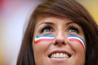 高清图-新浪直击法国尼日利亚球迷