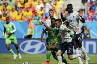 高清图-[1/8决赛]法国2-0尼日利亚