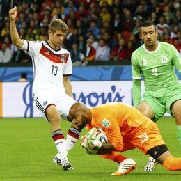 [1/8决赛]德国2-1阿尔及利亚