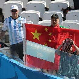 新浪直击阿根廷瑞士球迷