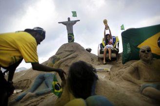 高清图-巴西的世界杯生活