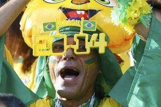 高清图-巴西哥伦比亚球迷集锦
