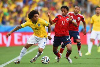 高清图-[1/4决赛]巴西2-1哥伦比亚